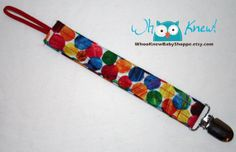 Pacifier Clip Soothie MAM Pacifier holder by WhooKnewBabyShoppe, $5.00