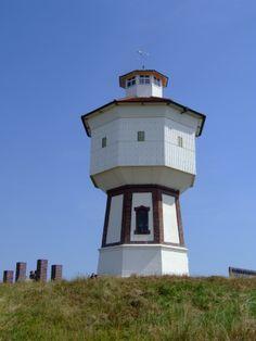 Der Wasserturm auf der Ostfriesischen Insel Langeoog.