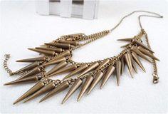 colar spikes