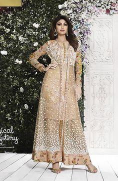 Buy Beige #Color Salwar Suit @ http://www.indiandesignershop.com/product/lovely-beige-color-salwar-suit/