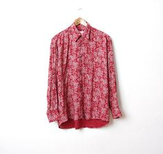 CLICK HERE TO BUY! https://www.etsy.com/listing/195681912/70s-bandana-paisley-shirt-from-designer?ref=shop_home_active_10