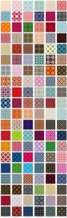 600-seamless-vector-patterns-bundle11a