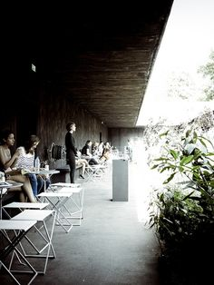 Side Patio  - 2011 Serpentine Gallery Pavilion by Peter Zumthor