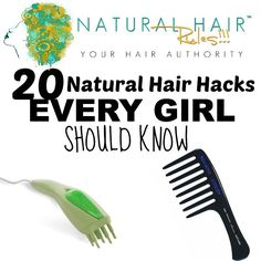 Natural hair can be a challenge at times. Whether you are a seasoned veteran or a new natural, here are some hacks you can use the next time your hair gives you a hard time.  Some of these tips are...