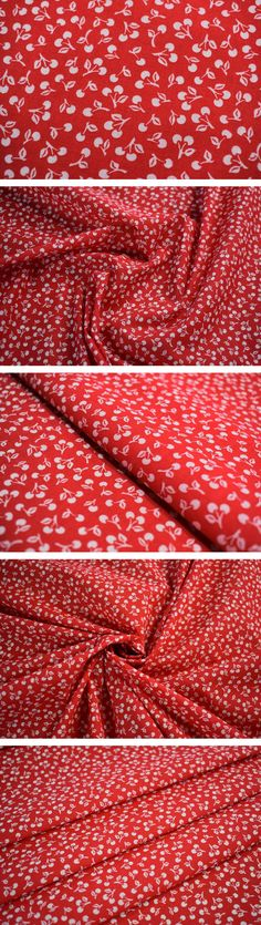 "1 MTR GREY CHERRY PRINT 100/% COTTON FABRIC...45/"" WIDE £4.50 SPECIAL OFFER"