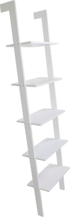 Sisusta lastenhuone Jox Basicin tyylipuhtaalla tikashyllyllä. Tikashyllyssä on neljä hyllytasoa ja se muistuttaa seinää vasten nojaavia tikkaita. Hyllyn voi kiinnittää seinään ruuveilla, jolloin se on tukevampi. Hyllylevyt ovat ke