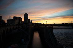 Sunset over Saint Paul.  Photo: Courtesy of Rita Farmer Photography