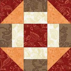 simple quilt block patterns for beginners - Google Search
