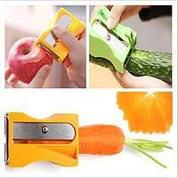 New 2014 Carrot Cucumber Sharpener Peeler Kitchen Tool Vegetable Fruit Curl Slicer Kitchen Tools, Kitchen Gadgets, Pencil Sharpener, Original Gifts, Home Design Decor, Plastic Cutting Board, Amazing, Cucumber, Carrots