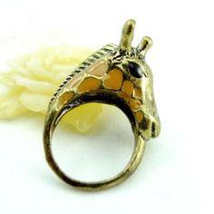Giraffe Ring Copper - One Size