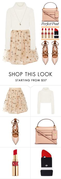 """""""Dancing with The Stars"""" by igedesubawa ❤ liked on Polyvore featuring Valentino, Roberto Cavalli, Yves Saint Laurent, Forever 21, Finn, contest, valentino, REDLIP, contestentry and polyvorecontest"""