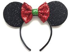 0964fd444151 8 pairs of Christmas Minnie Mouse ears that you need for the holidays -  HelloGiggles