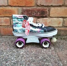 "57 Likes, 10 Comments - For Heaven's Skates (@fhskates) on Instagram: ""We love custom builds! These cute slim fit vans are mounted on powerdyne reactor neo plates, with…"""
