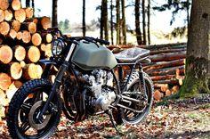 Honda CB750 Scrambler Motorbikes Honda CB750 Scrambler by LHC