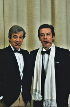 Jean-Paul Belmondo and Alain Delon Young Old, Actor Studio, Laura Ingalls, Alain Delon, Great Films, Actor Model, Best Actor, Famous Faces, Celebrity Pictures