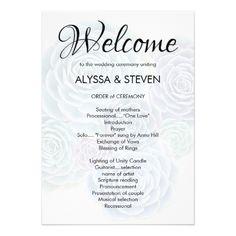 Succulent Wedding Invitations Welcome Succulent Wedding Ceremony Program Card Unique Wedding Programs, Wedding Ceremony Programs, Ceremony Seating, Succulent Wedding Invitations, Scripture Reading, Unity Candle, Invitation Design, Vows, Programming