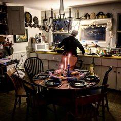 """""""Paula in her kitchen #Nantucket #ACK"""""""