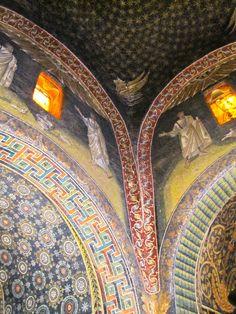 Interior Mausoleum of Galla Placidia, #Ravenna