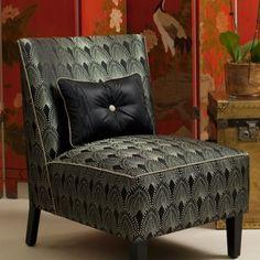Great Gatsby Art Deco Style by Catherine Martin for Mokum Cozy Furniture, Art Deco Furniture, Bedroom Furniture, 1920s Bedroom, Art Deco Bedroom, Bedroom Ideas, Art Deco Fabric, Art Deco Home, My Escape