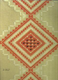 Slovak embroidery pattern