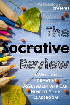How to incorporate regular and meaningful formative assessment in your classroom with Socrative. Simplify the assessment process and get back valuable time that you spend grading and planning. Instructional Coaching, Instructional Technology, Educational Technology, Instructional Strategies, Technology Tools, Educational Games, Assessment For Learning, Formative Assessment, Student Learning