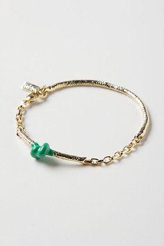Bubblegum Knot Bracelet #anthropologie.  DIY project to experiment with Plasti Dip