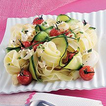WeightWatchers.be - Weight Watchers Recepten - Pasta met courgette en kerstomaatjes