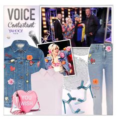 """TV Fashion: The Voice"" by alves-nogueira ❤ liked on Polyvore featuring River Island, Victoria, Victoria Beckham, Sugarbaby and Dsquared2"