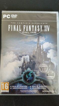 Final fantasy XIV Online,Jeu pc, The complete experience, 2 Jeux en 1 Vf Neuf.