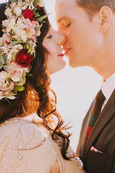 Portland elopement, photo by Dylan and Sara Photography http://ruffledblog.com/woodland-portland-elopement #elopement #wedding
