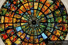 Stained Glass Dome by ~buRnt-khakiS on deviantART