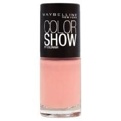 gemey maybelline colorshow rebel bouquet vernis ongles beige 426 peach bloom - Vernis Color Show