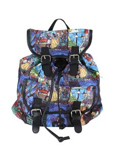 New Disney Beauty And The Beast stained glass backpack from Hot Topic