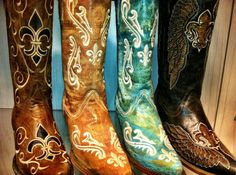 Corral Boots at RiverTrailMercantile.com!