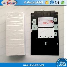 Epson T60 T50 Inkjet Printable PVC Plastic Card with card tray