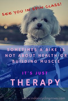 Sometimes Spin class is more than fitness... it's my therapy!