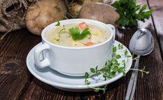 Basische Kartoffelsuppe mit Gemüse