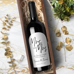 Excited to share the latest addition to my #etsy shop: Mrs Bridesmaid Wine Bottle, Wedding Wine Bottles, Wine Bottle Labels, Custom Wine Labels, Groomsmen Proposal, Bridesmaid Proposal, Label Paper, Be My Groomsman, Will You Be My Bridesmaid