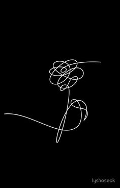 BTS LOVE YOURSELF 'HER' FLOWER WHITE