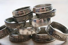 coin rings.