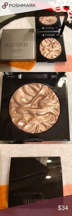 Laura mercier illuminator Face powder illuminator in color indiscretion laura mercier Makeup Luminizer