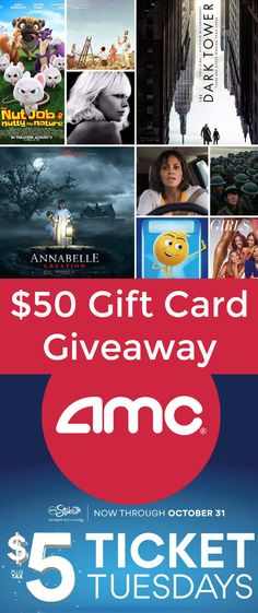 Which upcoming movie do you want to see? Enter to win a $50 AMC Theatres Gift Card Giveaway AD http://freebies4mom.com/amc Everyone should join the FREE AMC Stubs program!
