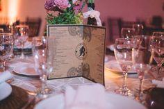 Wedding decor, cardápio de mesa, casamento