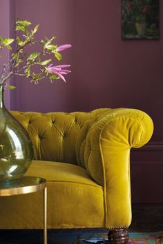 Plum and Mustard 6 Interior Colour Combinations That Shouldn't Work But Do
