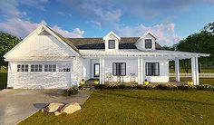 Modern Farmhouse Plan - 62637DJ   Country, Farmhouse, 1st Floor Master Suite, Butler Walk-in Pantry, CAD Available, PDF   Architectural Designs