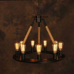 Vintage-Chandelier-Industrial-Edison-Lamp-American-Style-Iron-Base-RH-Loft-Coffee-Bar-Restaurant-Kitchen-Pendant.jpg (700×700)