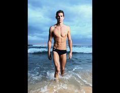 Eamon Sullivan, swimmer for Australia's Olympic Team.
