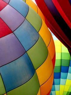 schön! Heißluftballons!