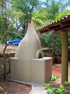 ItaliaForni domestic wood fired oven at Manzanillo, Colima. Private house.