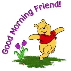 God said good morning   ... morning is of course good morning most times we say it without even